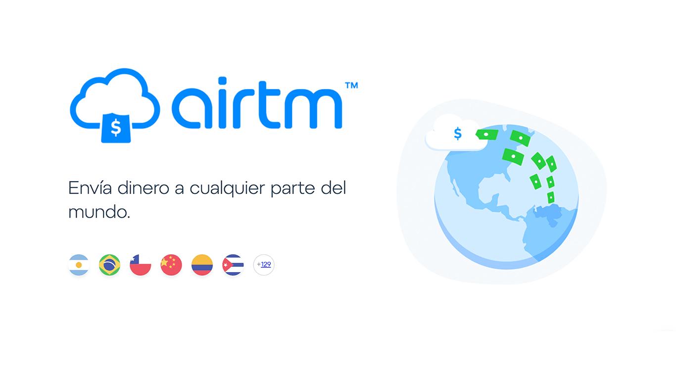 La plataforma estilo Start Up Airtm